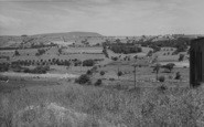 Nelson, Pendle Hill From Manchester Road 1961