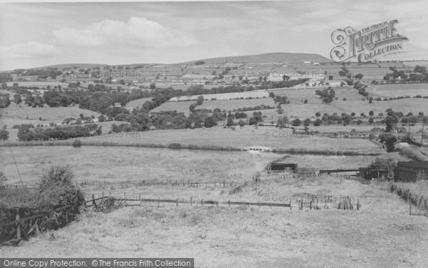 Photo of Nelson, Pendle Hill From Manchester Road 1961