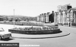 Nelson, Rose Gardens And Bus Station c.1960