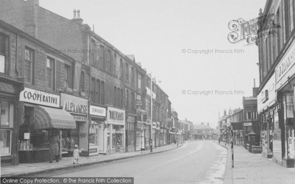 Photo of Nelson, Scotland Road 1957
