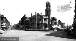 Nelson, Scotland Road And Leeds Road 1961