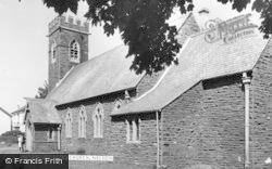 Nelson, St John's Church c.1960