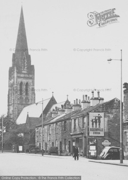 Photo of Nelson, St Mary's Church 1950