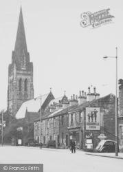 Nelson, St Mary's Church 1950