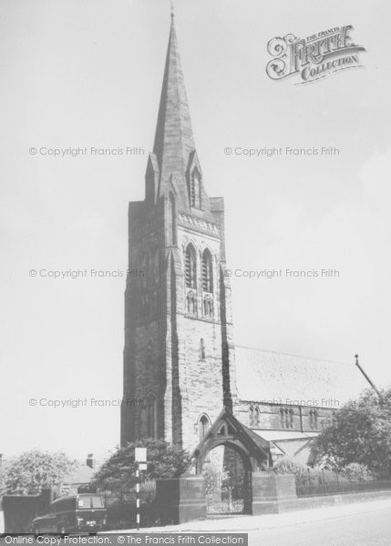 Photo of Nelson, St Mary's Church 1961
