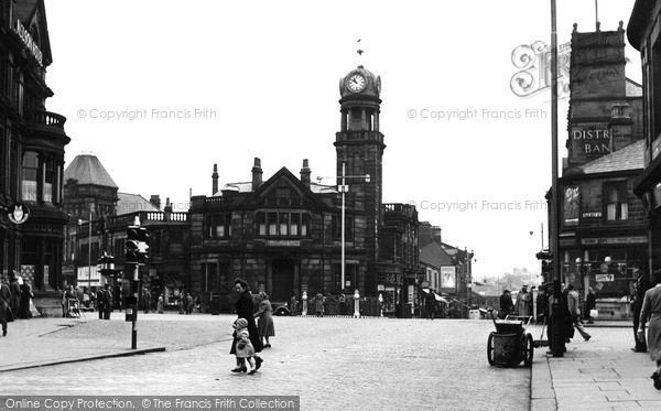 Photo of Nelson, The Centre 1950
