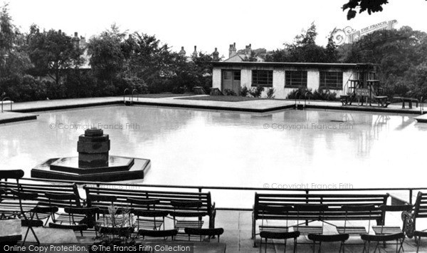 Photo of Nelson, the Swimming Pool 1950