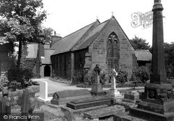 St Winefride's Church c.1950, Neston