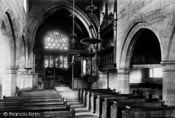 Nether Alderley, Church Interior 1896