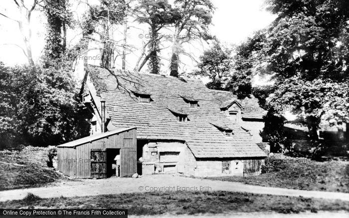 Alderley Edge,Old Mill 1896,Cheshire
