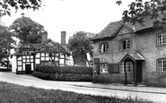Nether Alderley, Potts' Shop c1955