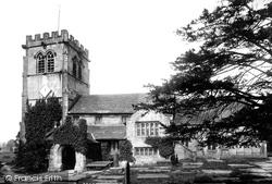 Nether Alderley, St Mary's Church 1896