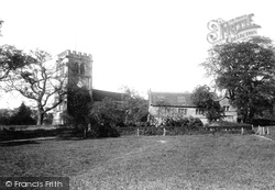 Nether Alderley, St Mary's Church And School 1896