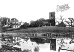 Nether Alderley, St Mary's Church And The Rectory 1896