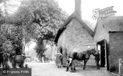 Nether Alderley, Village Smithy, Bradford Lane 1896