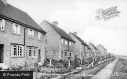 Nether Langwith, Limes Avenue c.1950