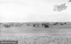 Bridgwater Bay From Minehead Road c.1955, Nether Stowey