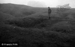 Nether Stowey, Castle Earthworks 1961