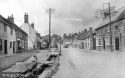 Nether Stowey, Castle Street 1935