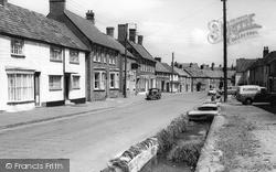 Nether Stowey, Castle Street c.1960