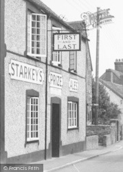 First And Last  c.1955, Nether Stowey