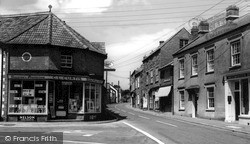 Lime Street c.1960, Nether Stowey