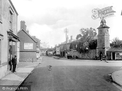 Post Office And Clock Tower 1929, Nether Stowey