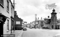 Post Office And The Cross 1935, Nether Stowey