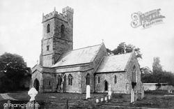 Nether Stowey, St Mary's Church 1895
