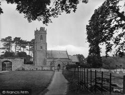 Nether Stowey, St Mary's Church 1929