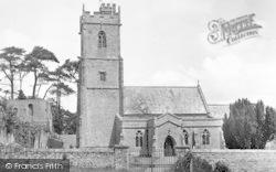Nether Stowey, St Mary's Church c.1955