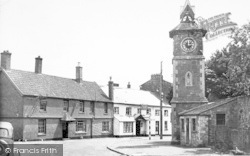 The Cross c.1955, Nether Stowey