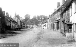 Nether Stowey, Village 1895