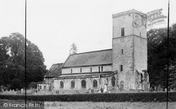 Netheravon, All Saints Church c.1955