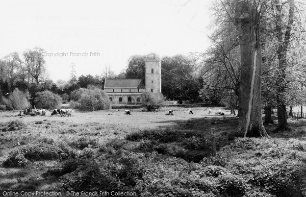 Photo of Netheravon, All Saints Church c.1965