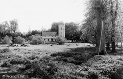 Netheravon, All Saints Church c.1965