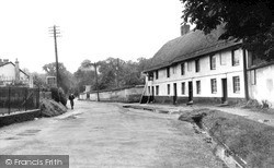 Netheravon, Clock Cottages c.1955