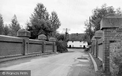 Netheravon, Haxon Bridge c.1955