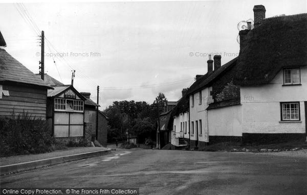 Photo of Netheravon, Kings Hill c.1955