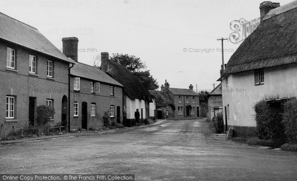 Photo of Netheravon, Mill Road c.1955