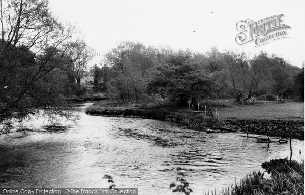 Photo of Netheravon, River Avon c.1965