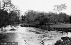 Netheravon, River Avon c.1965