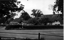 Netheravon, The Cross Roads c.1955