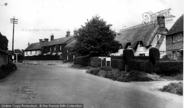 Photo of Netheravon, The Old Brewery School And Cottage c.1955