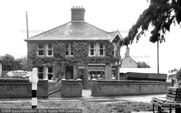 Photo of Netheravon, The Post Office c.1955