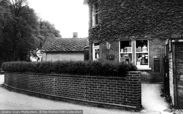Photo of Netheravon, The Post Office c.1955
