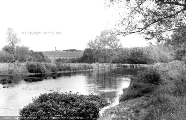 Photo of Netheravon, The River Avon c.1955