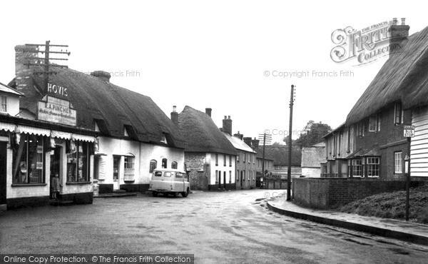 Photo of Netheravon, The Village c.1955