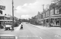 Netley, Station Road c.1960