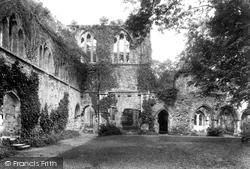 Netley, The Abbey Cloisters 1908